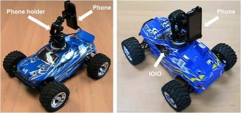 for teaching and for research in computational neuroscience. Figure 1. The Android Car built using a