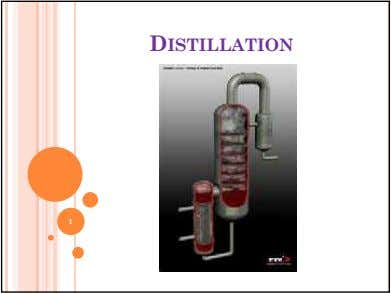 DISTILLATION 1