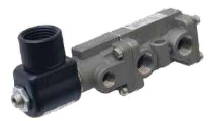 Locations - 3/2-(Three-Way) Valves DIMENSIONS: Inch mm 1.0 25.4 .27 Manual 2.09 3 Mounting Holes Override