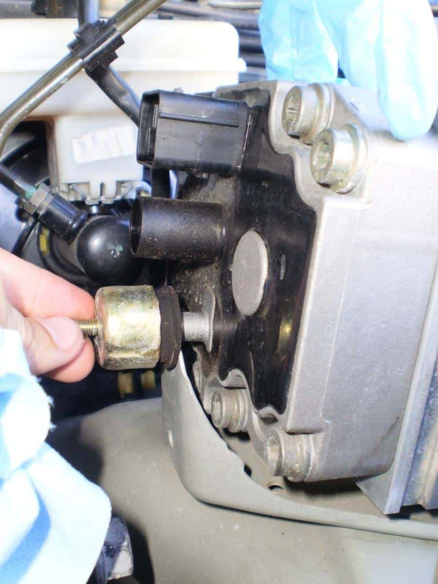 ABS Mod - LAND ROVER CLUB V.I. 13. Carefully remove the ABS unit paying closing attention