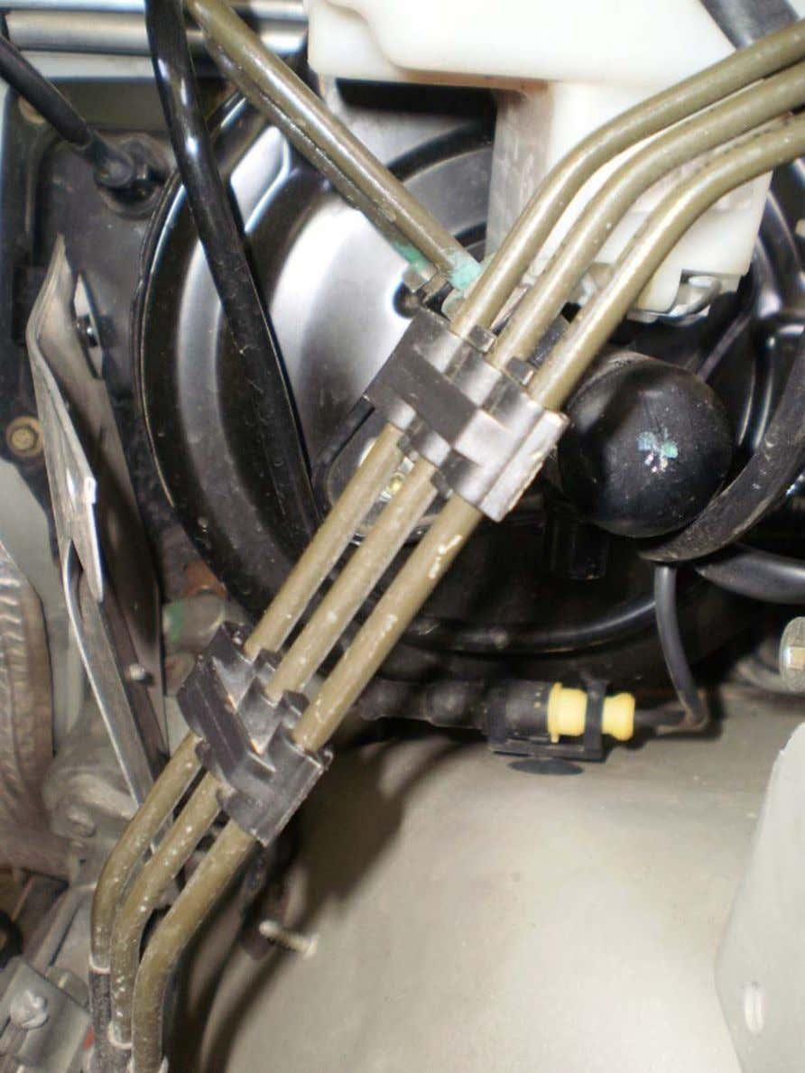 ABS Mod - LAND ROVER CLUB V.I. 23. Remove the three rubber mounts. One front and