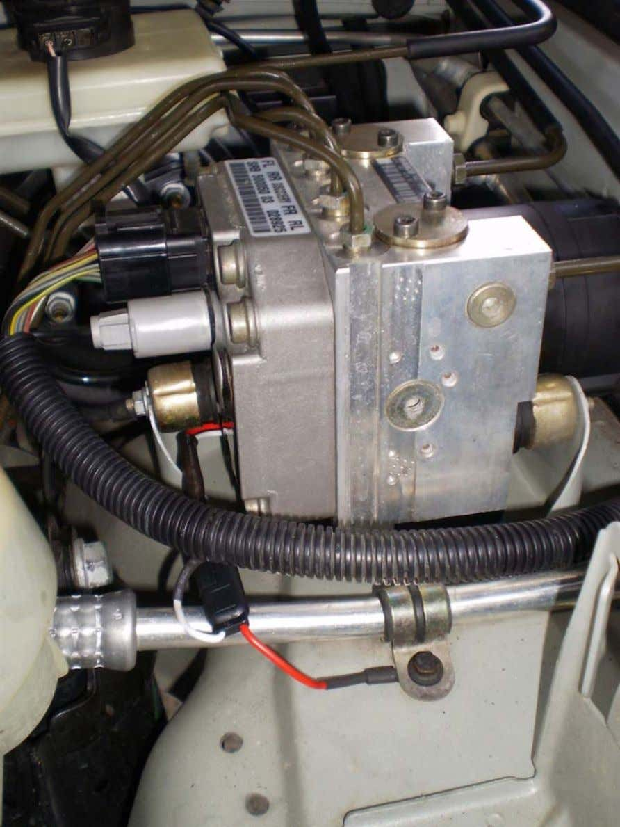 ABS Mod - LAND ROVER CLUB V.I. . 46. After everything is re-installed, turn the engine