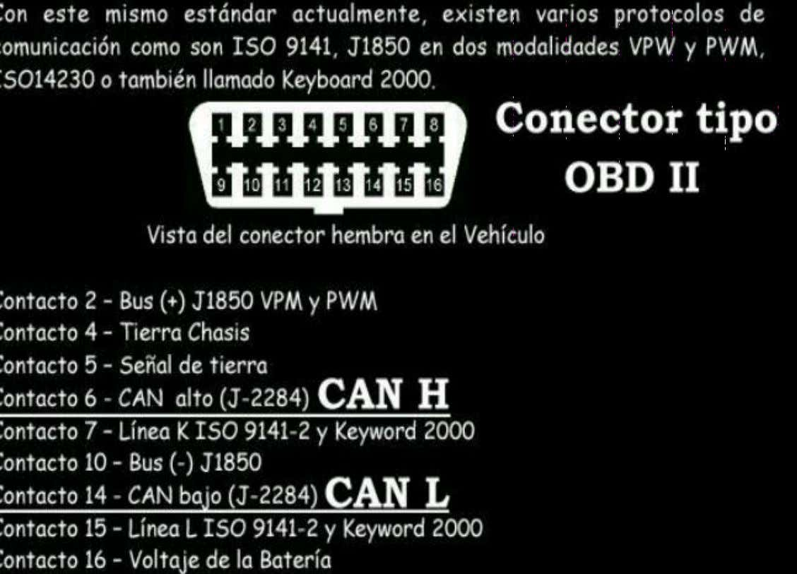 CONECTOR DE DIAGNOSIS