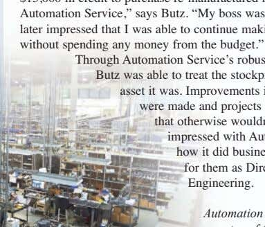 says Angie Kamp, sales representative at Automation Automation Service is the sole warrantor of this product