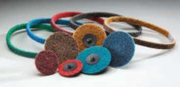 and Very Fine grit sizes and in all popular portable and off-hand belts sizes, including special