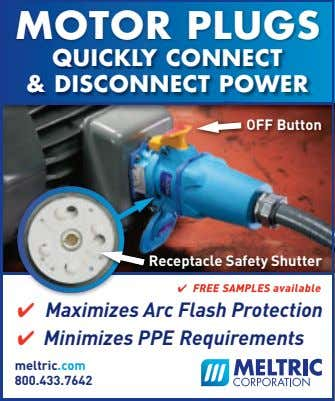 MOTOR PLUGS QUICKLY CONNECT & DISCONNECT POWER OFF Button Receptacle Safety Shutter ✔ FREE SAMPLES