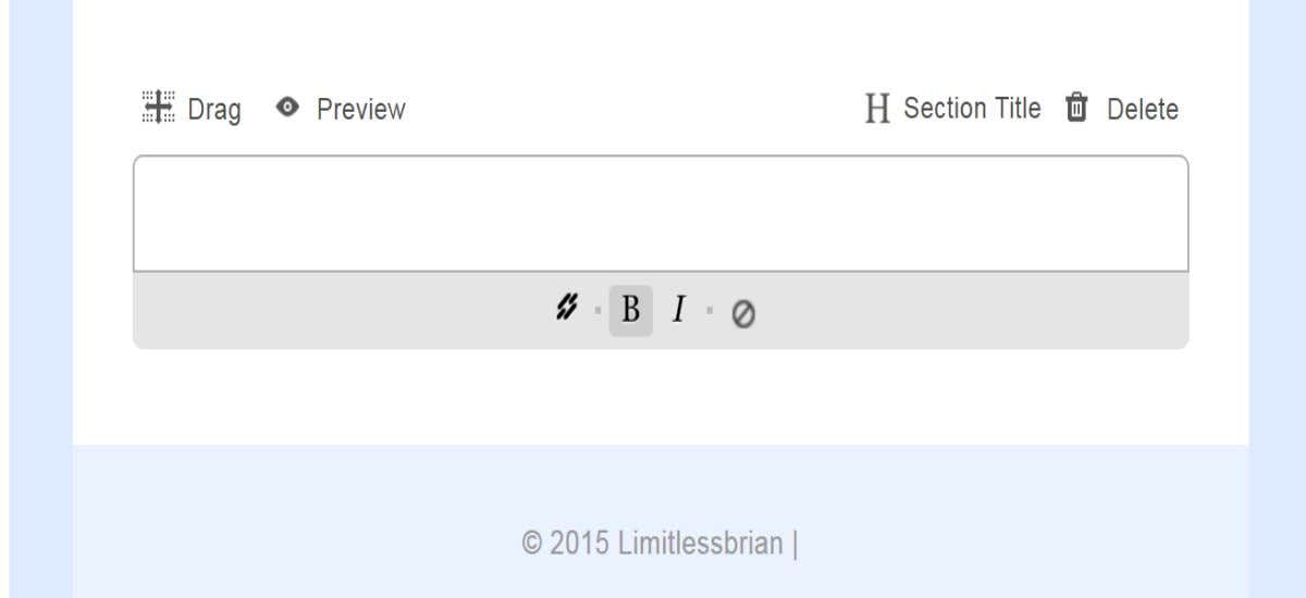 Type your section title in title box. © 2015- sirgoldva.weebly.com – Your Golden Virtual Assistant 82