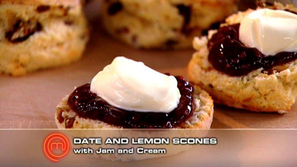 Date and Lemon Scones Ingredients 150ml-175ml milk 150ml cream 1 egg 3 cups self-raising flour 2