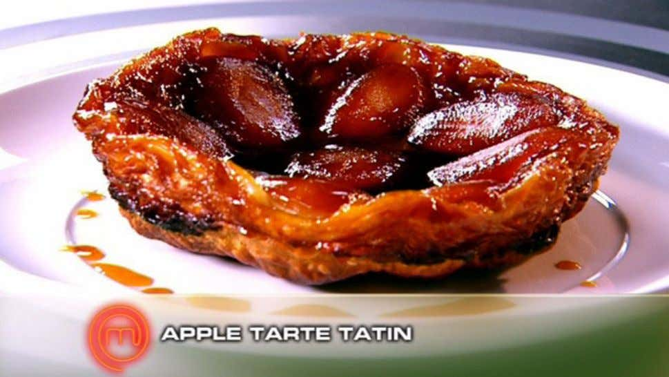 Apple Tarte Tatin Ingredients 3 Golden Delicious apples 1 tbs lemon juice ½ cup (110g) caster