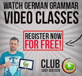 Name Email Zum Artikeltrick! German Grammar Videos Book Recommendation Who is teaching? Most German classes are
