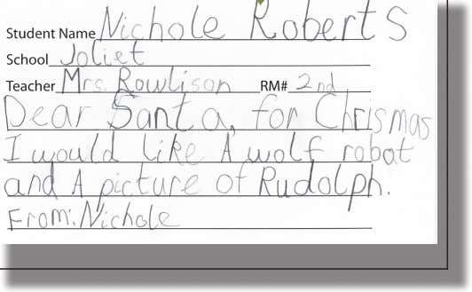 LETTERS TO SANTA 2013 A Special Publication of The Carbon County News December 19, 2013 —