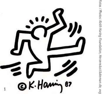 Fotos / Photos: Keith Haring Foundation, Herzenslust/Jukeman.de, vvg 1
