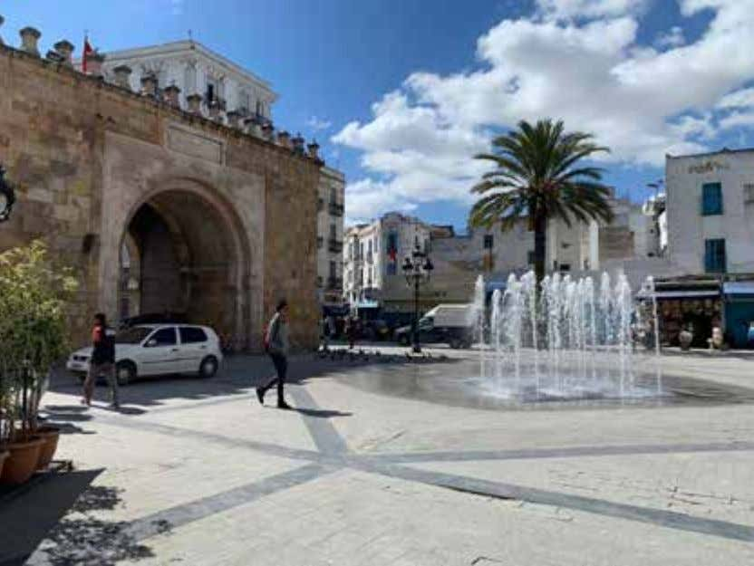 capital will prove to be a monumental loss for the region. The Medina of Tunis at