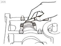 A B Figure 19: Connecting rod check