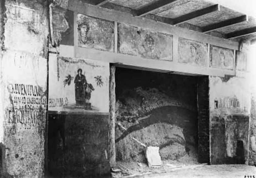 FIGURE 47 Pompeii, Shop of the Procession to Cybele (IX, 7, 1). View of ensemble