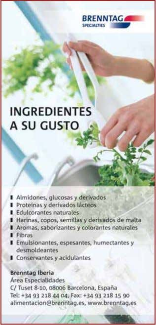 9. Ingredientes 9. Ingredientes