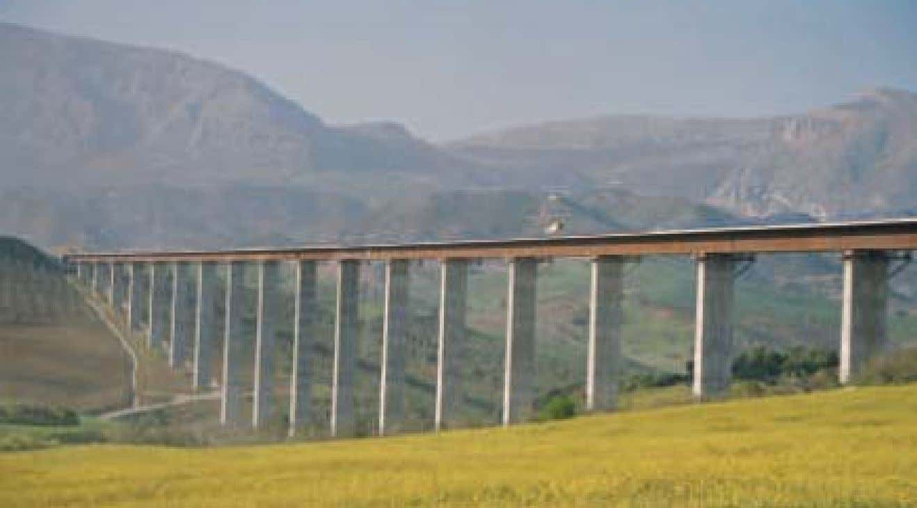 viaduct , 1208.9 m, 2005, (Spain) Seminar 'Bridge Design with Eurocodes' – JRC Ispra, 1- 2