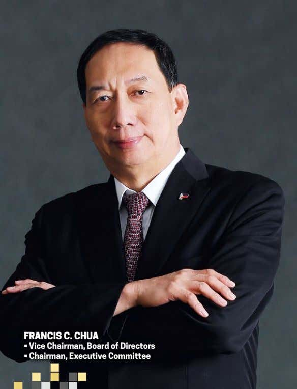 Francis c. chua • Vice Chairman, Board of Directors • Chairman, Executive Committee