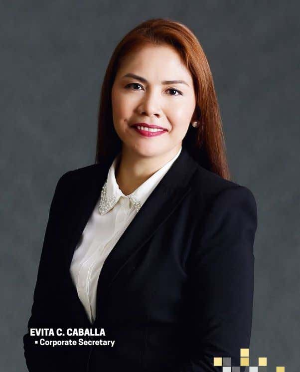 eviTa c. caballa • Corporate Secretary