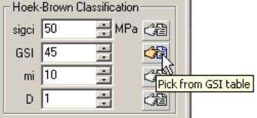 input pa rameter edit boxes in the sidebar (docking form). When you select a Pick button,