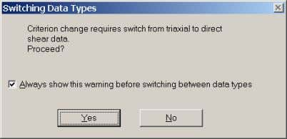"by selecting the ""Do not show warning again"" checkbox. Data type switch warning dialog Selection of"