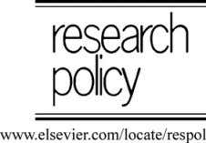 19 ARTICLE IN PRESS Research Policy xxx (2007) xxx–xxx Modes of organizing biomedical innovation in the