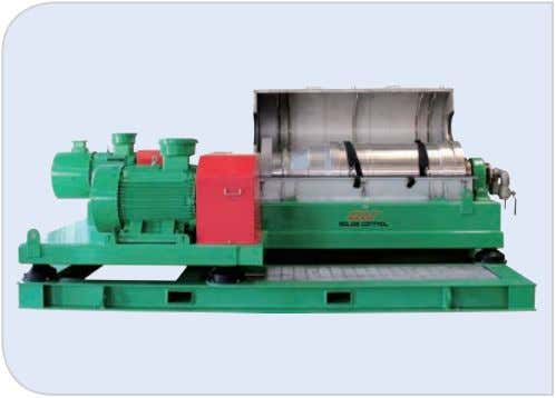 fully hydraulic drive, and vari- able frequency drive. Model GNLW452 C GNLW453C-VFD GNLW454D-VFD Bowl