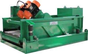 GNZS703 & GNZS594 series single deck shale shaker is popular in oil gas drilling, big