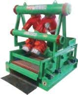Type: Desander with GNZS752 Series Mini Shale Shaker Screen Area:1.4m 2 Model: GNZJ752E-1S / GNZJ752E-2S