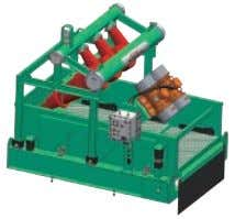 Type: Desander with GNZS703 Series 3 Panel Shale Shaker Screen Area:2.6m 2 Model: GNZJ703F-D2S /