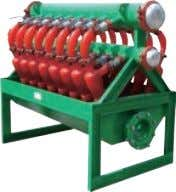 Type: Desilter without downstream drying shale shaker Model: GNWS-12N / GNWS-16N Application: For oil gas
