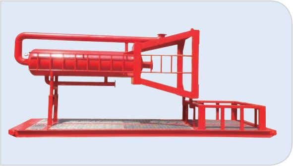 4.3.3 Mud Gas Separator www.gnsolidscontrol.com Model Tank Diameter Capacity Inlet Outlet Ventline