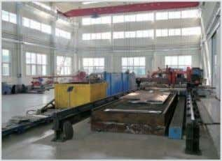 shop, warehouse etc. 4 GN Headquarter Offi No.1 Warehouse Material Cutting Workshop Company Profil Ball Blasting