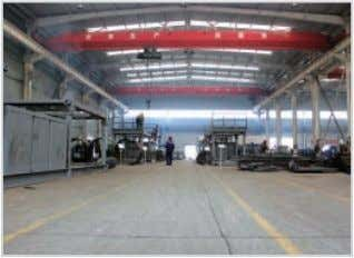 Cutting Workshop Company Profil Ball Blasting Machine Welding Workshop Powder Coating Production Line System