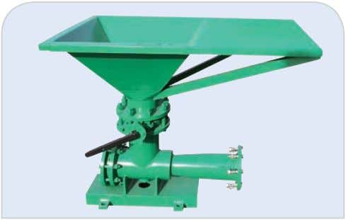4.5 Jet Mud Mixer Mud Hopper www.gnsolidscontrol.com Model Pressure Inlet Outlet Weight Dimensiom