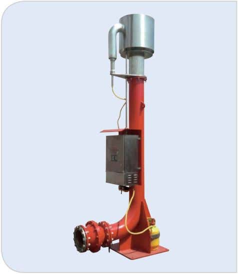 www.gnsolidscontrol.com 4.7 Flare Ignition Device Model GNYD200A Main body Diameter DN200 Charging Power