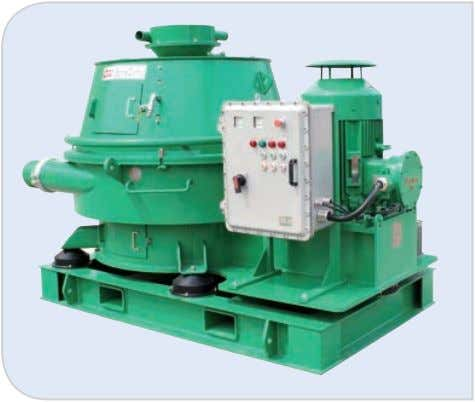 5: Waste Management Equipment 5.1 Vertical Cuttings Dryer Model GNCD930E GNCD930E-VFD Capacity 30 ~