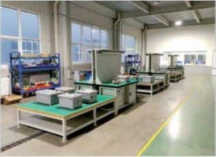 Workshop Shaker Screen Workshop CNC Machinery Workshop Electrical Control Equipment High Speed and Low Speed