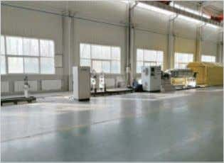 Workshop CNC Machinery Workshop Electrical Control Equipment High Speed and Low Speed Balancing No.2 Warehouse Company