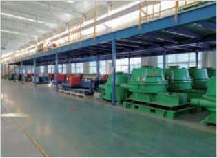 CNC Machinery Workshop Electrical Control Equipment High Speed and Low Speed Balancing No.2 Warehouse Company Profil