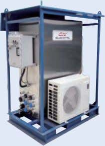 ● 3 VFD for bowl speed, differential speed, and pump capacity. ● The VFD is