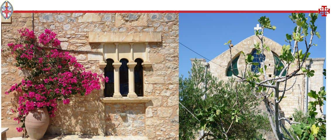ings. Today, it must be one of the most beautiful monasteries in Crete, having been