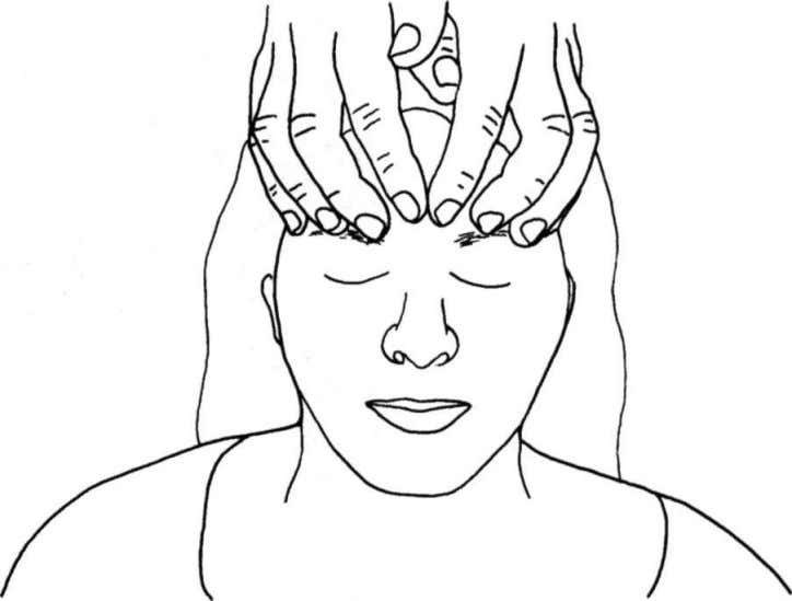 into place and recheck by palpation. Figure 34: Frontal lift Practice: Parietal Lift (Superior-Inferior Cranial Membrane