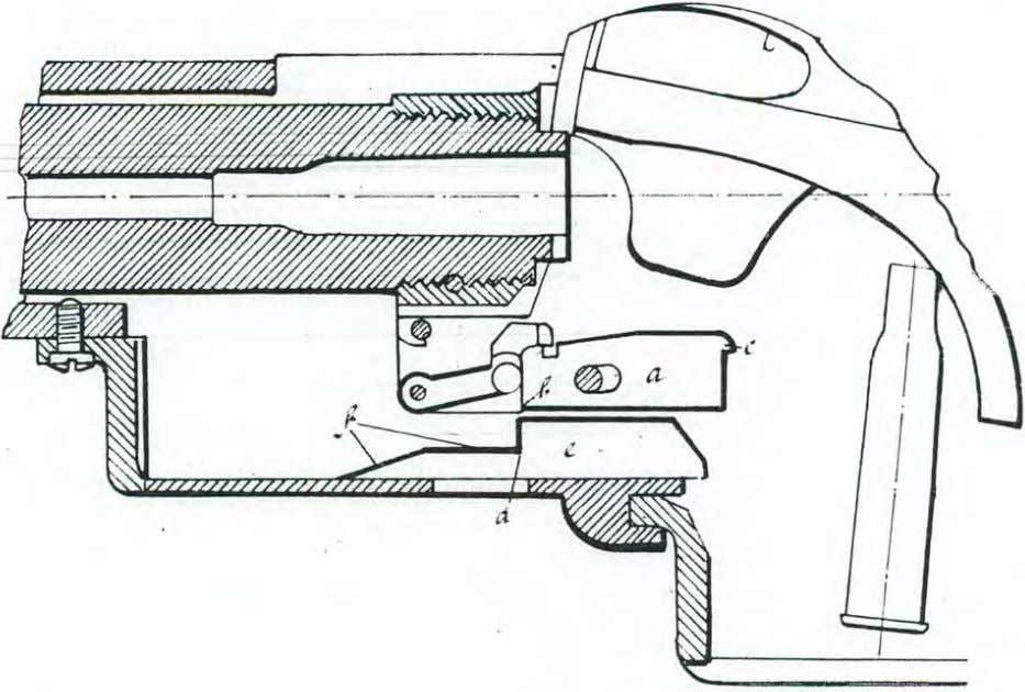 Model 1 9 :1 2 .   The ejector a is rn,ovided belovr with a socket