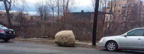 "The Saga of the ""Mystery Boulder"" Continiues It's debatable how long this boulder has been sitting"
