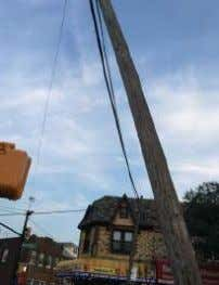 Utility Pole Concerns For the past couple of years, we have been expressing concern about the