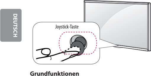 Joystick-Taste Grundfunktionen DEUTSCH