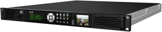 audio inputs. Figure 1. Cisco D9096 4:2:2: AVC Encoder The Cisco D9096 also supports MPEG-2 and