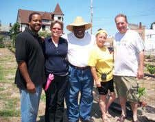 "as a precursor and template for wealth-building."" Mansfield Frazier Councilman T. J. Dow's visit to Chateau"