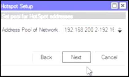 Address Pool of Network Certificate biarkan none IP Address of SMTP Server DNS Server